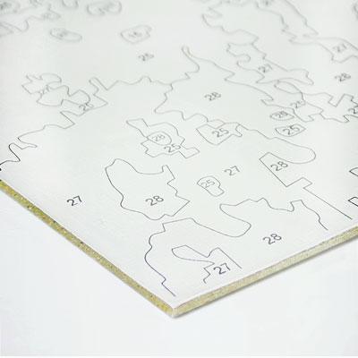 Раскраски по номерам на картоне